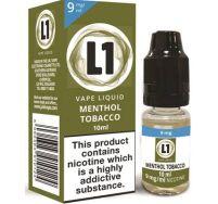 L1 menthol tobacco e liquid