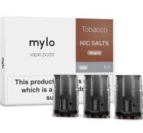 Mylo tobacco nic salts pods 3 pack