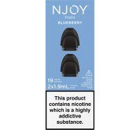 NJOY pods blueberry 2 pack