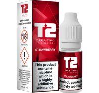 T2 strawberry e liquid 10ml
