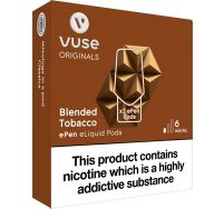Vuse ePen blended tobacco pods 2 pack