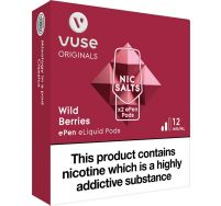 Vuse ePen vPro wild berries pods 2 pack