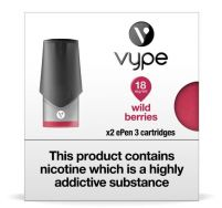 Vype ePen 3 wild berries pods 2 pack