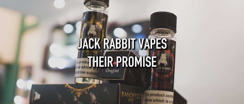 Image of several Jack Rabbit Vapes eliquids bottles stacked onto of each other
