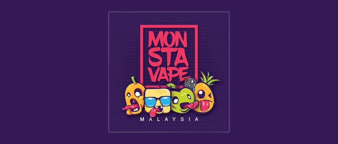 Image of the Monsta Vape eliquid fruity range logo