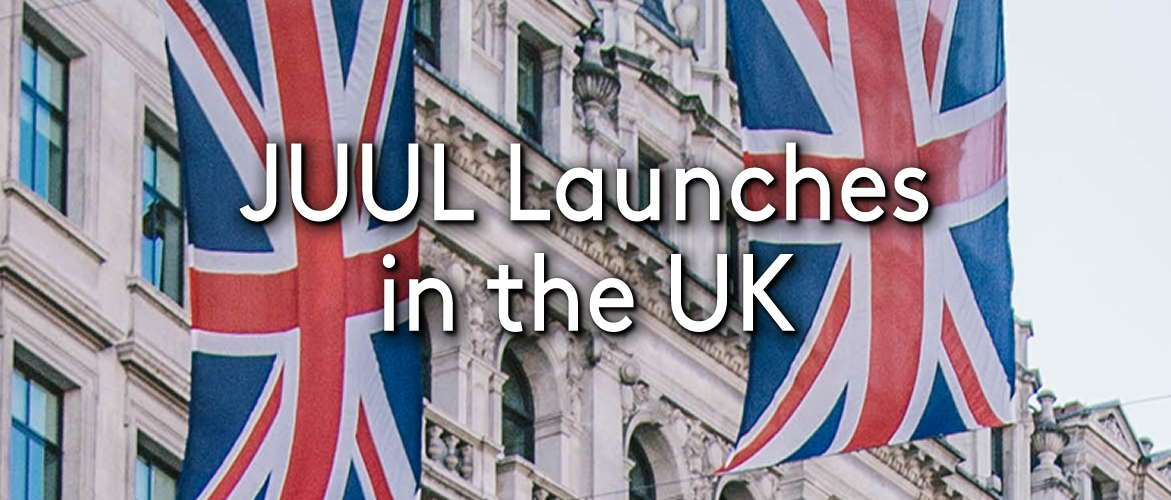JUUL Launches in the UK