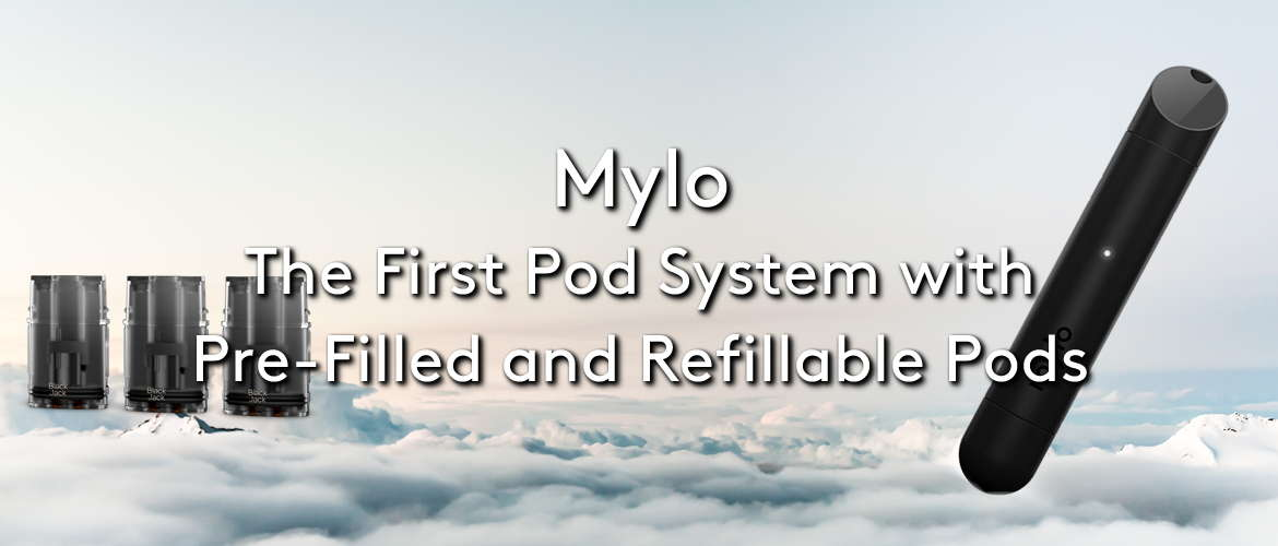 Mylo: The First Pod System with Pre-Filled and Refillable Pods