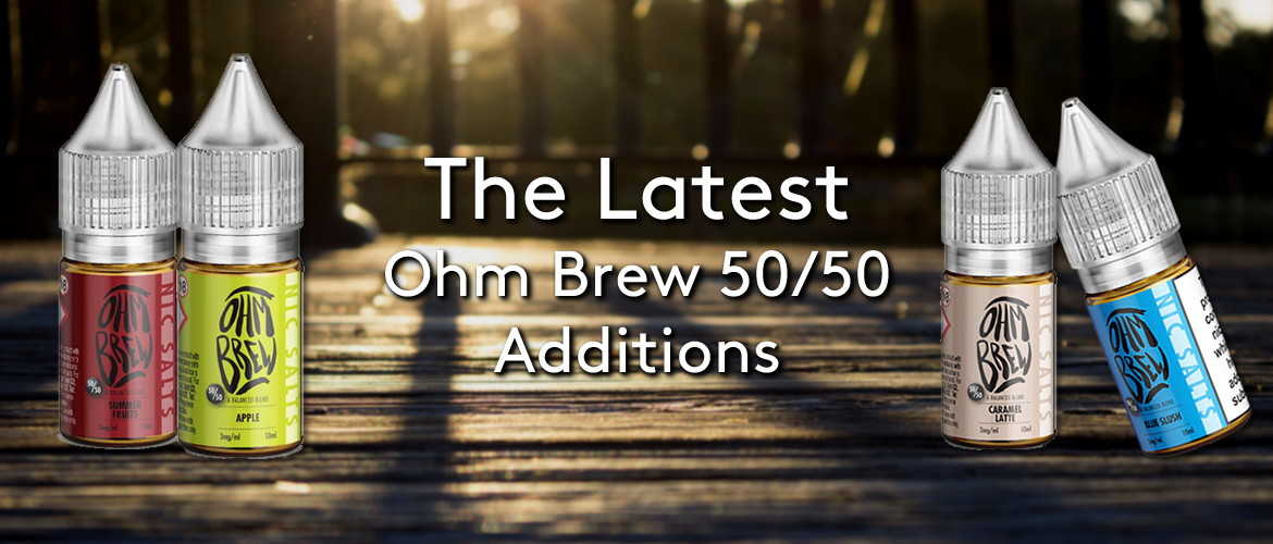 The Latest Ohm Brew 50/50 Additions