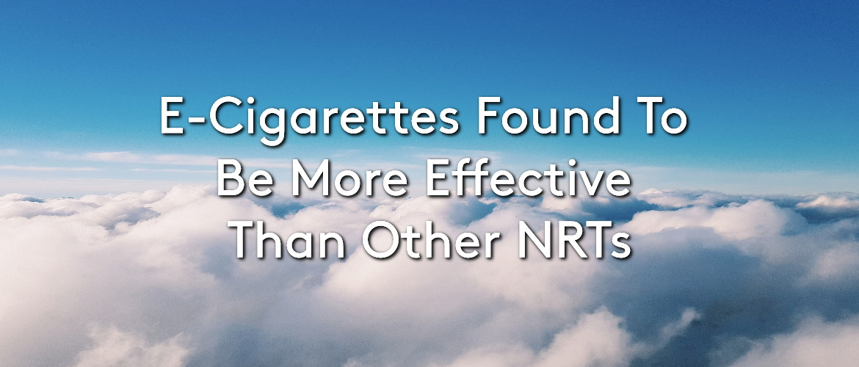 E-Cig Found As More Effective Than NRTs