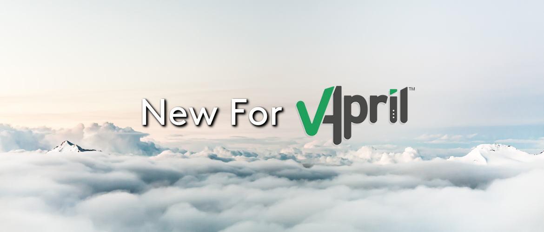 New For VApril