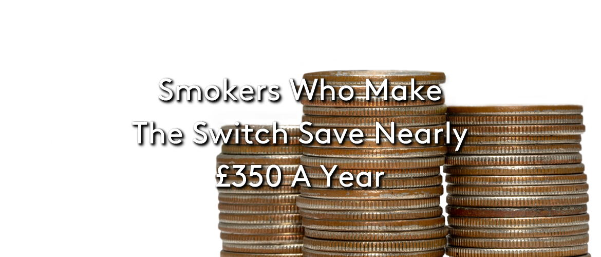 Smokers Who Switch Save £350 A Year