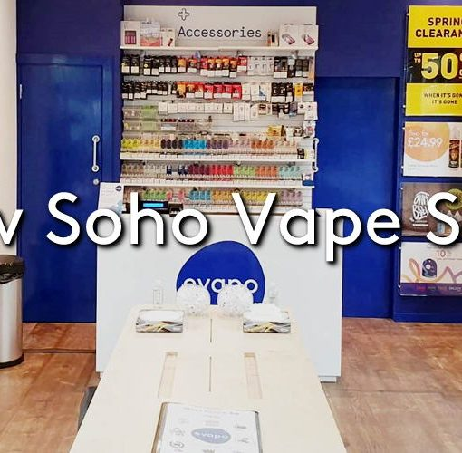The new Evapo Soho Vape shop