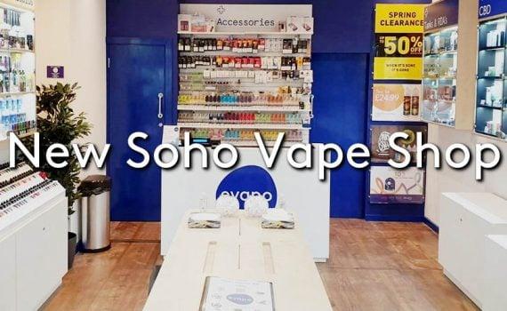 The new Evapo Soho Vape shop