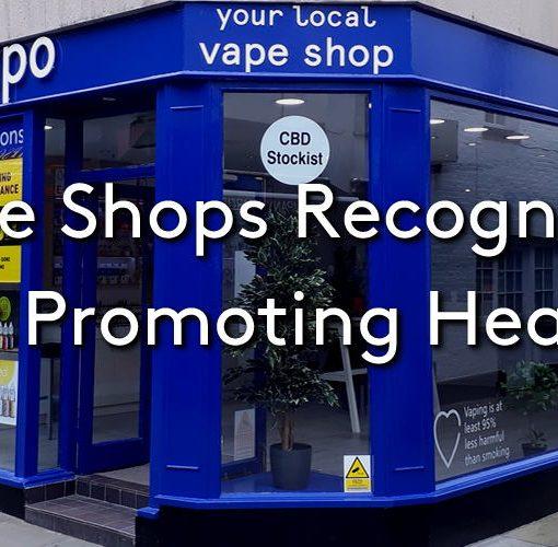 The Evapo vape shop in Horsham