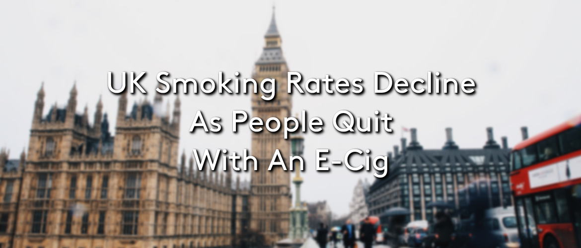UK Smoking Rates Decline As People Quit With E-Cigs