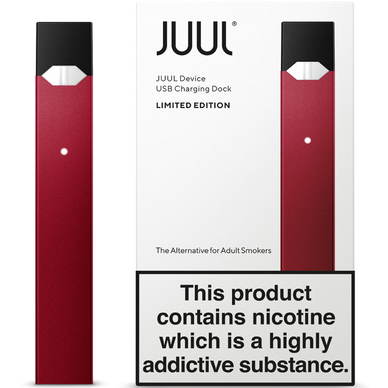 JUUL limited edition ruby device kit