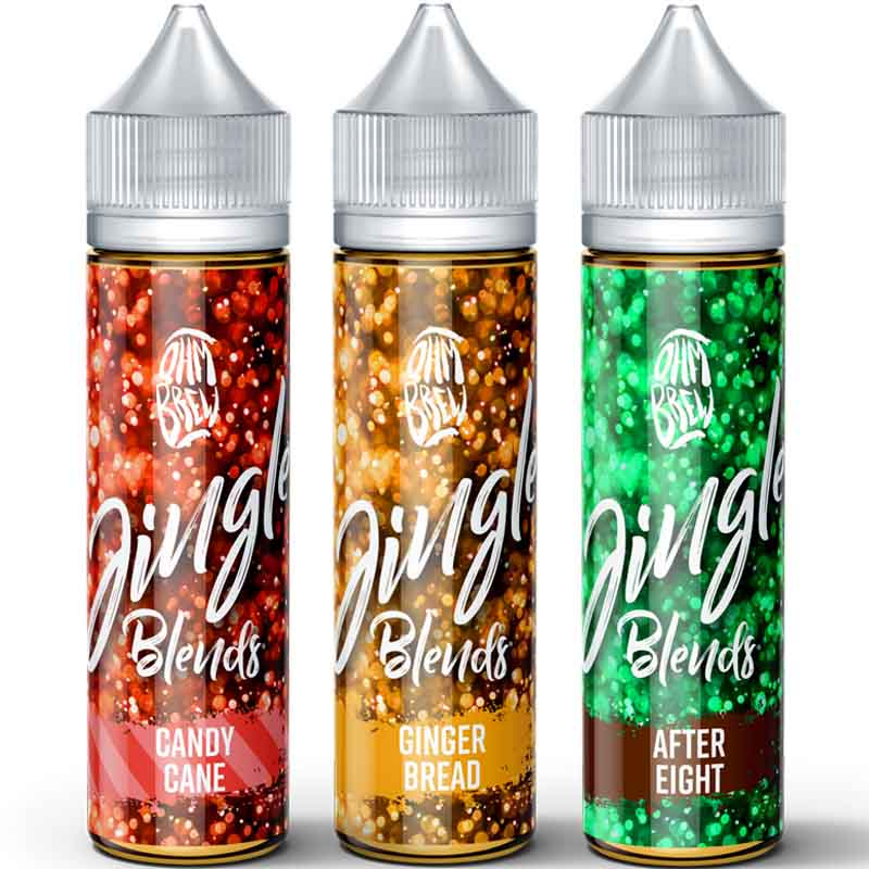 Ohm Brew Jingle Blends Christmas pack 3 x 50ml