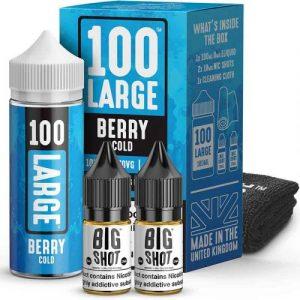 100 Large Berry Cold e-liquid