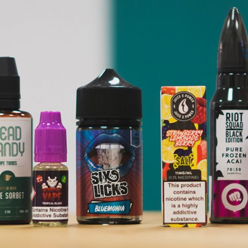 Top 20 e-liquids for summer