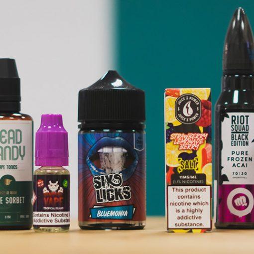 Top 20 e-liquids for summer