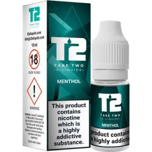T2 Menthol e-liquid