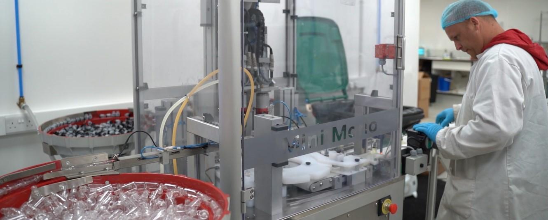 Our e-liquid manufacturing capability